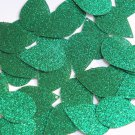 "Teardrop Sequin 1.5"" Green Metallic Sparkle Glitter Texture Paillettes"