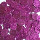 Round Sequin 15mm Violet Purple Metallic Sparkle Glitter Texture Paillettes