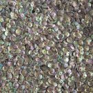 5mm Cup Sequins Coffee Brown Rainbow Iris Shiny Opaque