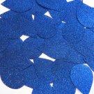 """Teardrop Sequin 1.5"""" Royal Blue Metallic Sparkle Glitter Texture Paillettes"""