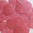Round Sequin 40mm Rose Pink Metallic Sparkle Glitter Texture Couture Paillettes