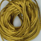 Yellow Gold Satin Rattail Cord Made in the USA 10 yard pack