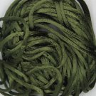 Olive Green Satin Rattail Cord Made in the USA 10 yard pack