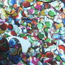 "Oval Sequin 1.5"" Multicolor Sequined Mix Pattern Metallic"