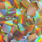 "Sequin Square Diamond 1.5"" Gold Lazersheen Reflective Metallic. Made in USA"