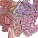 Pink Sequins City Lights Rectangle 1.5 inch Reflective Couture Paillettes
