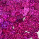 10mm Flat Sequins Fuchsia Pink Hologram Glitter Sparkle Metallic