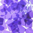 Sequin 30mm Square Shape Vinyl Go Go Trans Purple. Made in USA