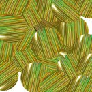 "Gold City Lights Reflective Metallic Sequins Round 1.5"" Large Couture Paillettes"