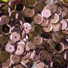 8mm Cup SEQUIN FACET PAILLETTES ~  PINK Metallic ~ Made in USA