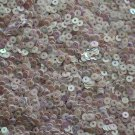 3mm Flat SEQUIN PAILLETTES ~ Opaque LILAC PINK Iris Rainbow ~ Made in USA.