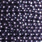 Royal Purple Pearl Beads 4mm Molded on Thread Fused to string 120 inches (10')