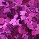 10mm Flat SEQUIN Loose PAILLETTES ~ PURPLE Metallic ~ Round Disc ~