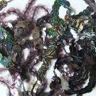 "10mm Sequin Trim Sampler Pack. 10 (12"") pieces. Colors: Black Gray Midnight Dark"