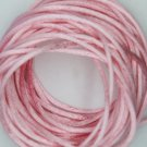 Pale Pink Satin Rattail Cord Made in the USA 10 yard pack