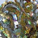 "10mm Sequin Trim Sampler Pack 10 (12"") pieces Colors: Gold Silver Hologram Lazer"