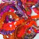 "10mm Sequin Trim Sampler Pack. 10 (12"") pieces. Colors: Purple Pink Orange Lilac"