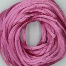 Hot Pink Satin Rattail Cord Made in the USA 10 yard pack