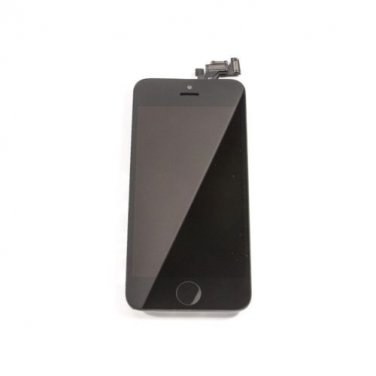 Black IPhone 5S LCD Screen Display Complete Full Assembly With Small Parts