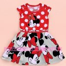 Summer Girls Dress Tutu Princess Baby Mickey Minnie Mouse