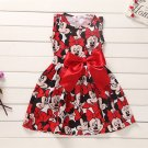 Girls Dress Tutu Princess Baby Mickey Minnie Mouse Dress Dot Baby Casual Paty Dress for 2-6 Years