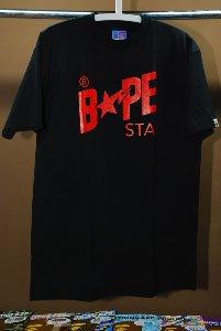 Bape Tee - Bape Sta Logo