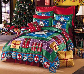 Beautiful Christmas Quilt King Size