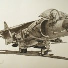 AV-8 Harrier Limited Edition print #357 of 2000