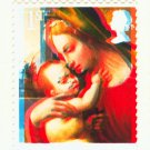 SPECIAL OFFER - Rare Double Colour Shift Print Error on 2013 GB Xmas Madonna 1st Class MNH Stamp