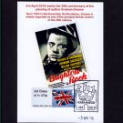 Graham Greene Postcard of Brighton Rock Movie Poster - Post & Go Stamp used Special Berkhamsted Pmk