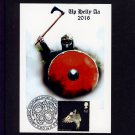 Owl Pictorial Stamp on Up Helly Aa Viking Fire Festival Postcard Special Shetland Islands Pmk