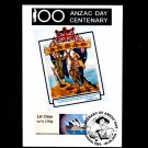Centenary ANZAC Day - Postcard with Sydney Opera House Post & Go and Special Postmark
