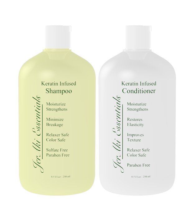 Keratin Infused Shampoo & Conditioner