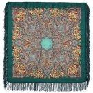 Russian, Authentic, Original, Pavlovo Posad Shawl, 100% Wool Free shipping