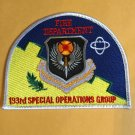 PENNSYLVANIA AIR NATIONAL GUARD 193RD SPECIAL OPERATIONS Patch