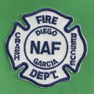 DIEGO GARCIA U.S. NAVAL AIR FACILITY CRASH FIRE RESCUE PATCH