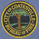COATSVILLE PENNSYLVANIA FIRE RESCUE PATCH