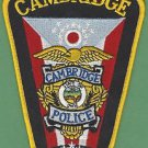 CAMBRIDGE OHIO POLICE PATCH
