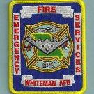 WHITEMAN AIR FORCE BASE MISSOURI FIRE RESCUE PATCH