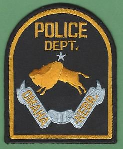OMAHA NEBRASKA POLICE PATCH