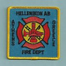 HELLENIKON U.S. AIR BASE ATHENS GREECE CRASH FIRE RESCUE PATCH