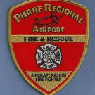 PIERRE SOUTH DAKOTA REGIONAL AIRPORT CRASH FIRE RESCUE ARFF PATCH