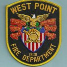 WEST POINT MILITARY ACADEMY NEW YORK FIRE RESCUE PATCH