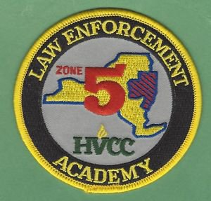HUDSON VALLEY COMMUNITY COLLEGE LAW ENFORCEMENT ACADEMY POLICE PATCH