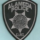 ALAMEDA CALIFORNIA POLICE CIRT TEAM PATCH