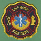 GOLF MANOR OHIO FIRE RESCUE PATCH
