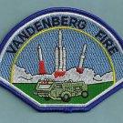 VANDENBERG AIR FORCE BASE CALIFORNIA FIRE RESCUE PATCH