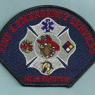 BARSTOW CALIFORNIA U. S. MARINE CORPS LOGISTICS BASE FIRE RESCUE PATCH