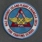 WHIDBEY ISLAND WASHINGTON NAVAL SHIPBOARD FIRE TRAINING SCHOOL PATCH
