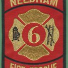 NEEDHAM TEXAS FIRE RESCUE PATCH